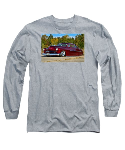 1951 Mercury Low Rider Long Sleeve T-Shirt by Tim McCullough