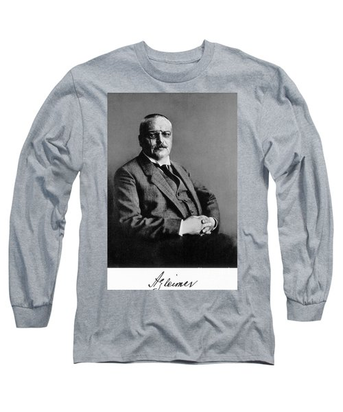 Alois Alzheimer, German Neuropathologist Long Sleeve T-Shirt