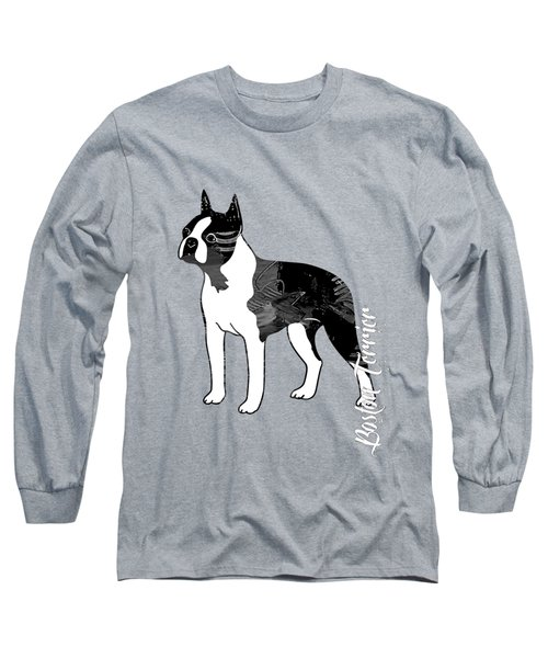 Boston Terrier Collection Long Sleeve T-Shirt