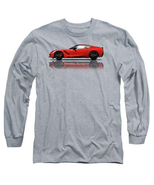 Chevrolet Corvette Stingray Long Sleeve T-Shirt by Mark Rogan