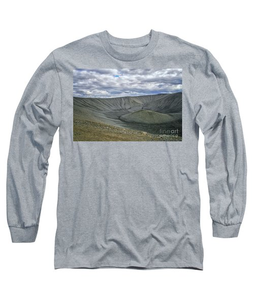Crater Long Sleeve T-Shirt by Patricia Hofmeester