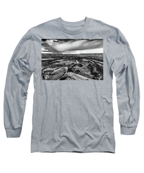Long Sleeve T-Shirt featuring the photograph Dead Horse Point by Jay Stockhaus