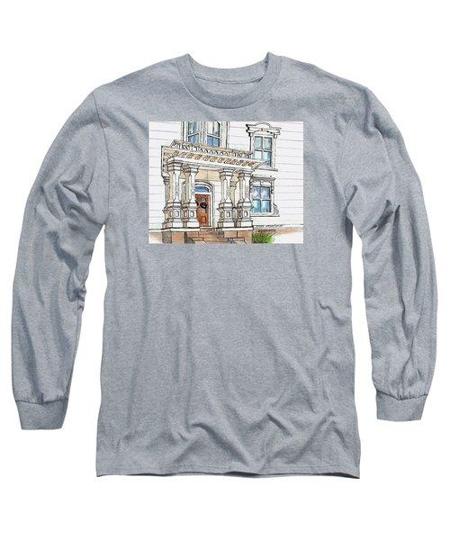 Essex Street Front Door Long Sleeve T-Shirt by Paul Meinerth