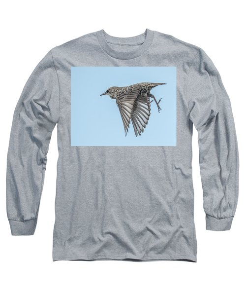 European Starling Long Sleeve T-Shirt by Tam Ryan