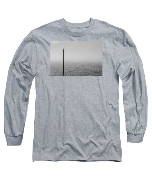 Fog On The Cape Fear River Long Sleeve T-Shirt