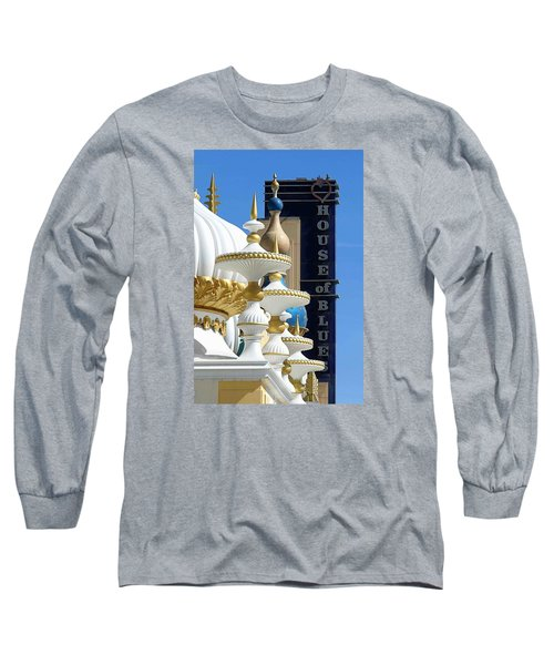 House Of Blues Long Sleeve T-Shirt by Allen Beilschmidt