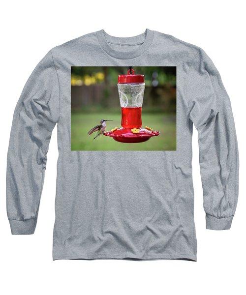 My Sweet Hummingbird Long Sleeve T-Shirt