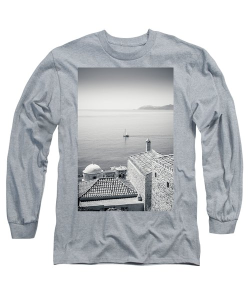 Monemvasia / Greece Long Sleeve T-Shirt by Stavros Argyropoulos