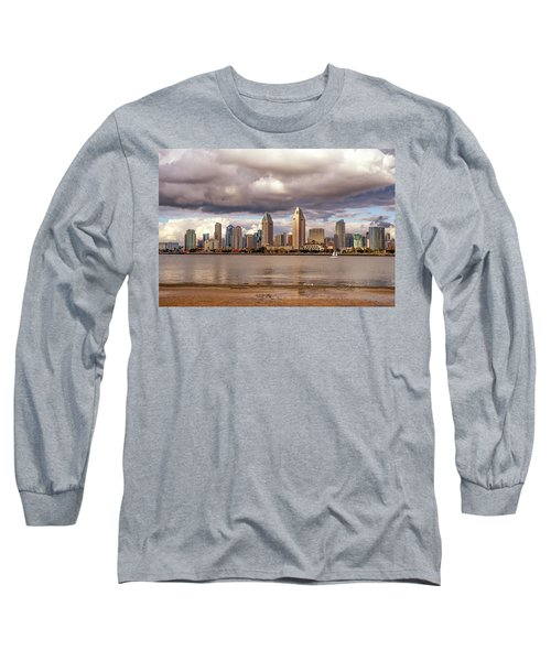 Passing By Long Sleeve T-Shirt by Joseph S Giacalone