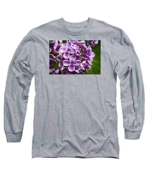 Pink Flowers Long Sleeve T-Shirt by Andre Faubert