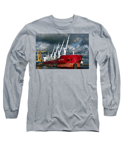 Port Of Amsterdam Long Sleeve T-Shirt