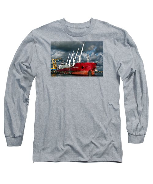 Port Of Amsterdam Long Sleeve T-Shirt