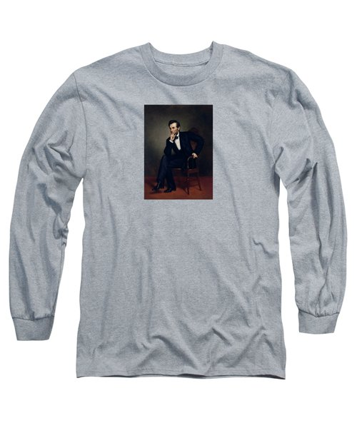 President Abraham Lincoln Long Sleeve T-Shirt by War Is Hell Store