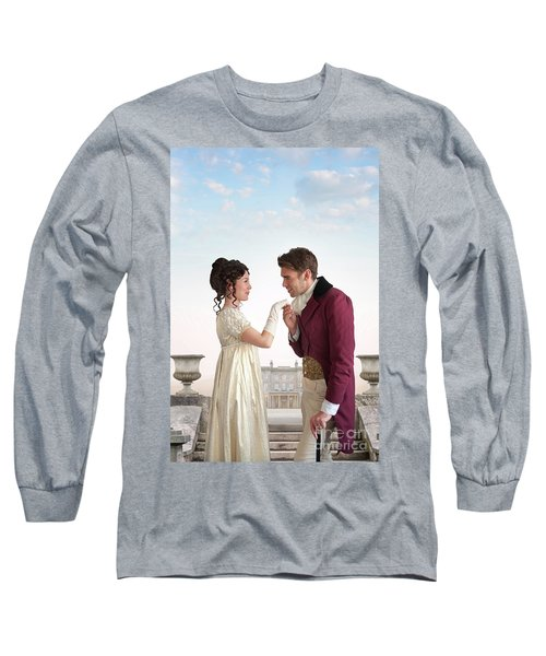 Regency Couple  Long Sleeve T-Shirt by Lee Avison