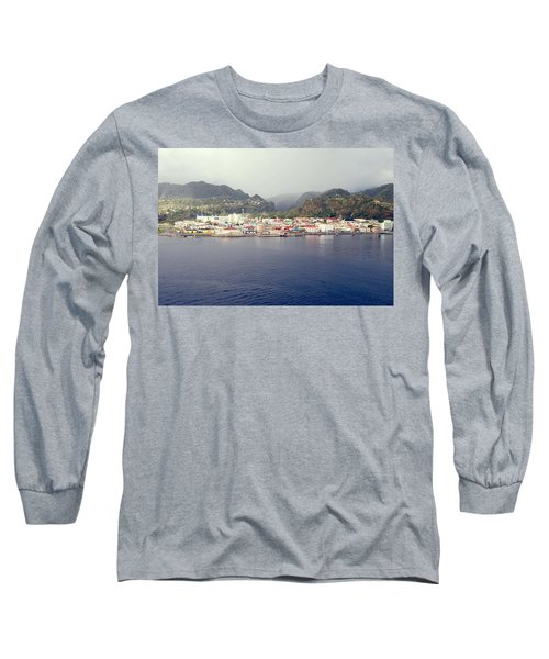 Roseau Dominica Long Sleeve T-Shirt