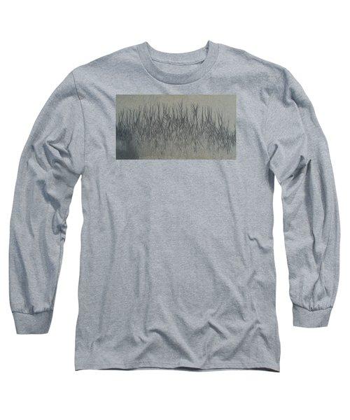 Sand Reels Long Sleeve T-Shirt by Joe  Palermo