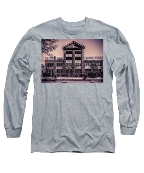 Long Sleeve T-Shirt featuring the photograph Sauer Building by Melissa Messick