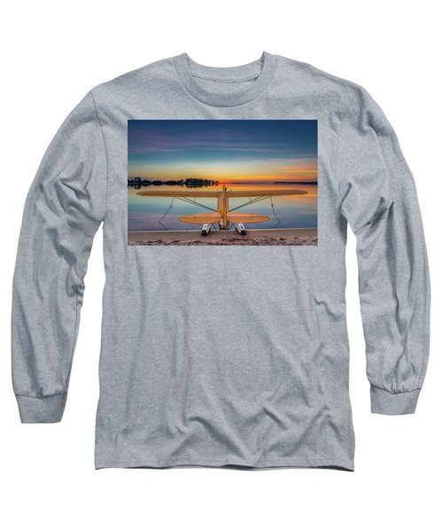 Splash-in Sunrise  Long Sleeve T-Shirt
