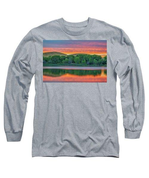 Sunrise Reflection Long Sleeve T-Shirt