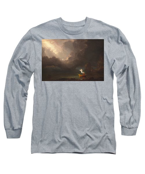 The Voyage Of Life Old Age Long Sleeve T-Shirt