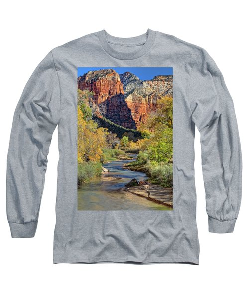 Zion National Park Utah Long Sleeve T-Shirt