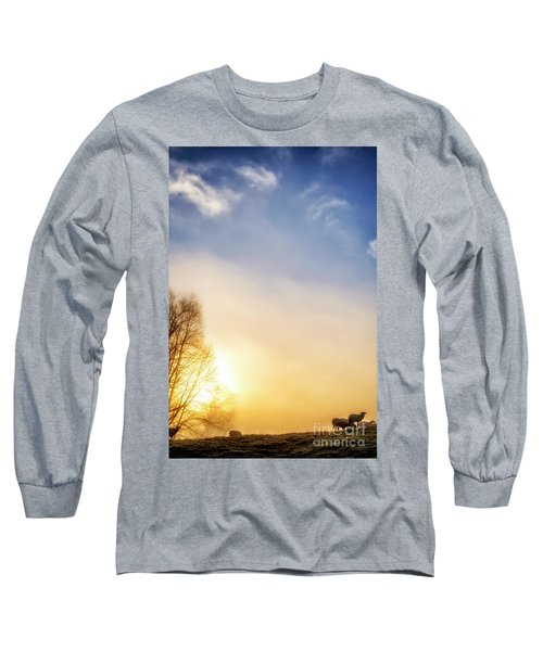 Long Sleeve T-Shirt featuring the photograph Misty Mountain Sunrise by Thomas R Fletcher