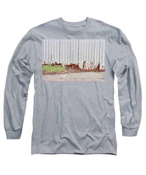 Rusty Metal Long Sleeve T-Shirt