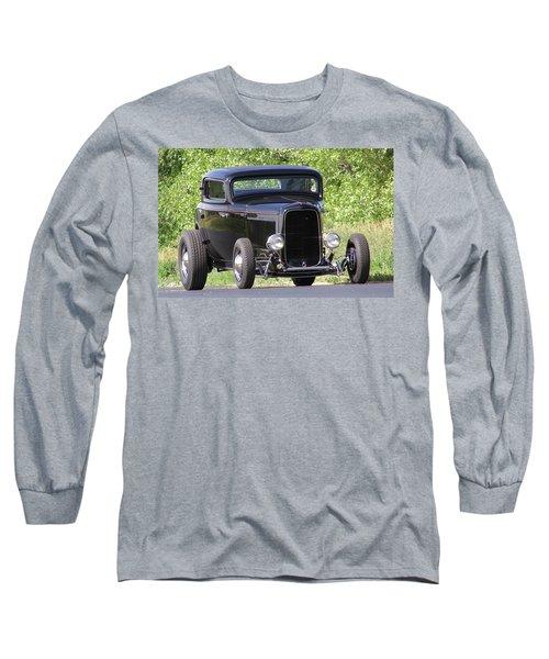 32 Three Window Classic  Long Sleeve T-Shirt