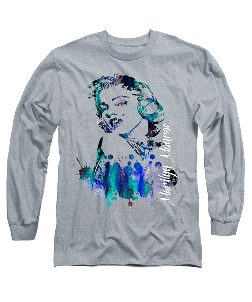 Marilyn Monroe Collection Long Sleeve T-Shirt by Marvin Blaine
