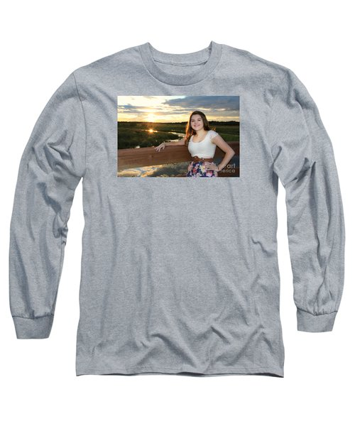 3833 Long Sleeve T-Shirt by Mark J Seefeldt