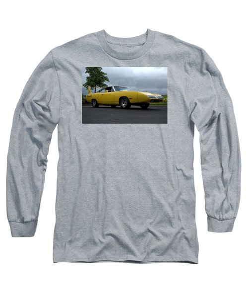 Long Sleeve T-Shirt featuring the photograph 1970 Plymouth Roadrunner Superbird by Tim McCullough