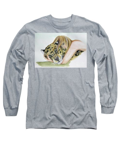 Anam Leopard Long Sleeve T-Shirt