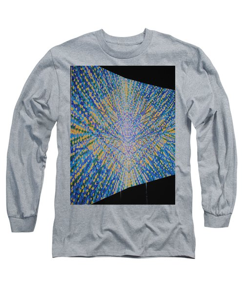 Long Sleeve T-Shirt featuring the painting Butterfly Dream by Kyung Hee Hogg