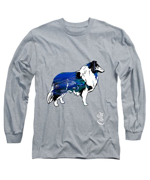Collie Collection Long Sleeve T-Shirt by Marvin Blaine
