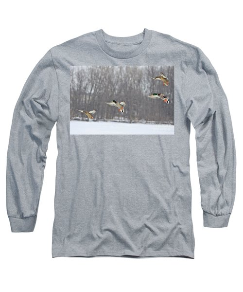 4 In A Row Long Sleeve T-Shirt
