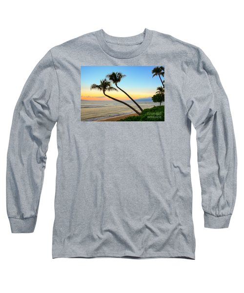 Long Sleeve T-Shirt featuring the photograph Island Sunrise by Kelly Wade