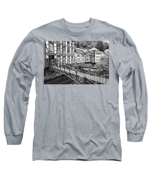 Monschau In Germany Long Sleeve T-Shirt by Jeremy Lavender Photography