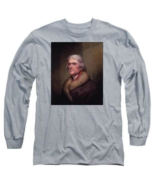 President Thomas Jefferson Long Sleeve T-Shirt
