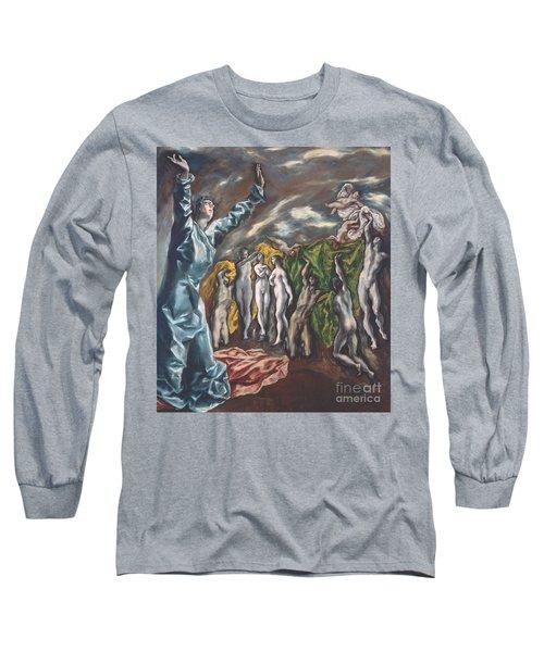 The Vision Of Saint John Long Sleeve T-Shirt