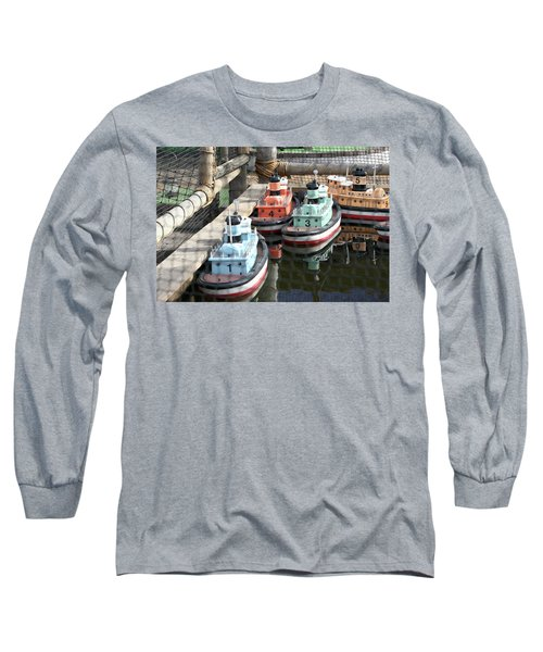 4 Toy Boats Long Sleeve T-Shirt