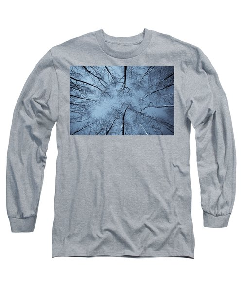 Trees In Epping Forest Long Sleeve T-Shirt