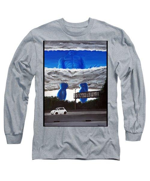 405 N. At Roscoe Long Sleeve T-Shirt by Chris Benice