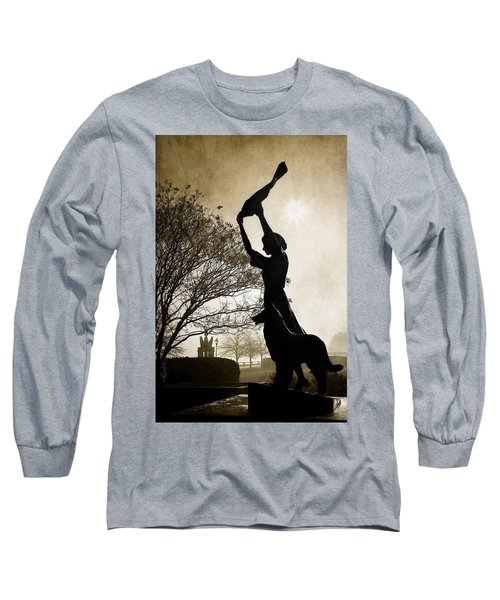 44 Years Of Waving Long Sleeve T-Shirt by Renee Sullivan