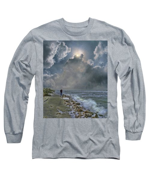 Long Sleeve T-Shirt featuring the photograph 4405 by Peter Holme III