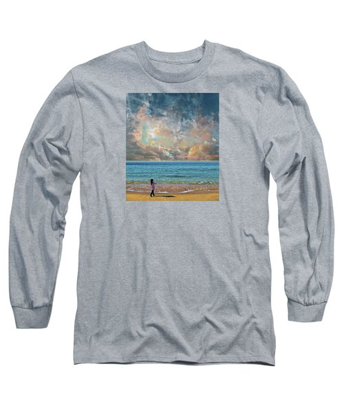 Long Sleeve T-Shirt featuring the photograph 4410 by Peter Holme III