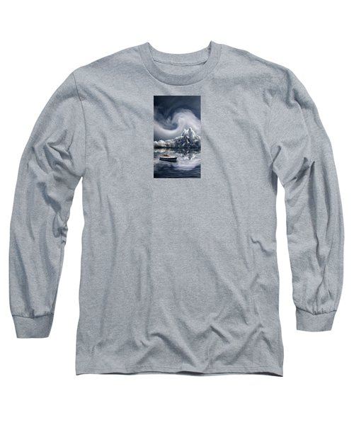 Long Sleeve T-Shirt featuring the photograph 4412 by Peter Holme III