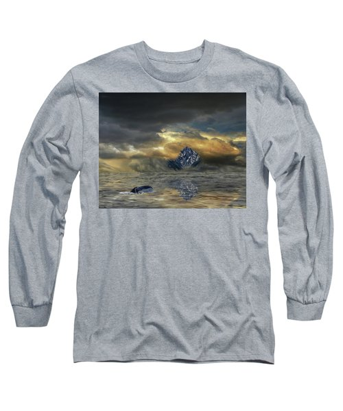 Long Sleeve T-Shirt featuring the photograph 4471 by Peter Holme III
