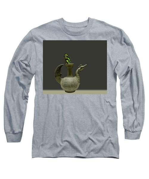Long Sleeve T-Shirt featuring the photograph 4482 by Peter Holme III
