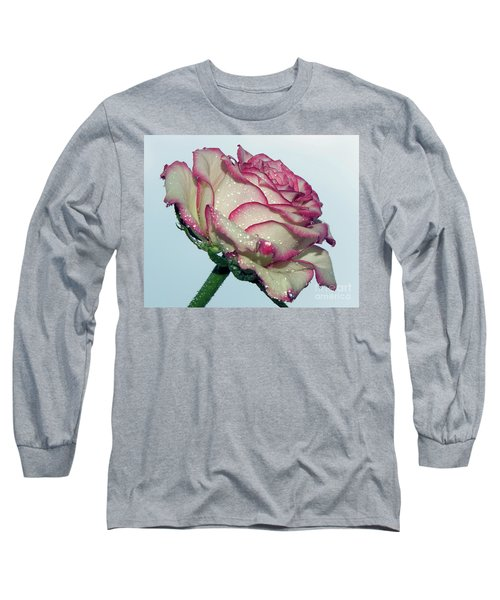 Beautiful Rose Long Sleeve T-Shirt by Elvira Ladocki