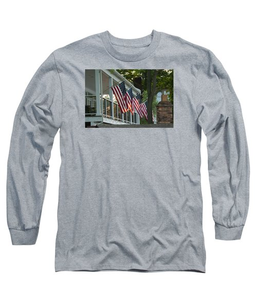 4th Of July Porch Long Sleeve T-Shirt